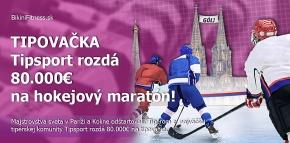 TIPOVAČKA - Tipsport rozdá  80.000€ na hokejový maratón!