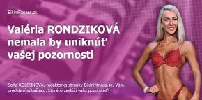 Valéria Rondziková - nemala by uniknúť vašej pozornosti