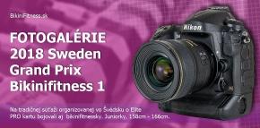 Fotogaléria - 2018 Sweden Grand Prix, Bikinifitness PART 1