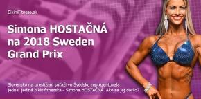 Fotogaléria - Simona HOSTAČNÁ na 2018 Sweden Grand Prix