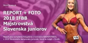 Report + fotogaléria - 2018 IFBB Majstrovstvá Slovenska juniorov, Bikinifitness