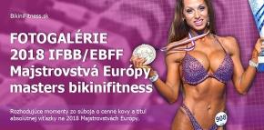 Fotogalérie - Masters Bikinifitness na 2018 IFBB/EBFF Majstrovstvách Európy
