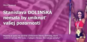 Stanislava Dolinská - nemala by uniknúť vašej pozornosti