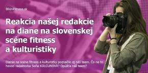 Reakcia našej redakcie na dianie na slovenskej scéne fitness a kulturistiky