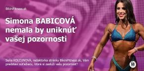 Simona Babicová - nemala by uniknúť vašej pozornosti