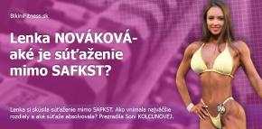 Lenka NOVÁKOVÁ - aké je súťaženie medzi bikinifitnesskami mimo SAFKST?