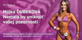 Miška Ďubeková - nemala by uniknúť vašej pozornosti