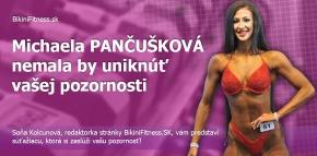 Michaela Pančušková- nemala by uniknúť vašej pozornosti