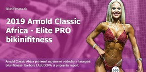 Arnold Classic Africa- Elite PRO Bikinifitness