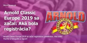 Arnold Classic Europe sa začal: Aká bola registrácia?