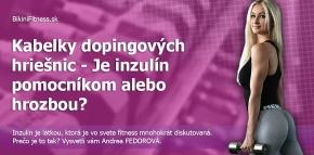 Kabelky dopingových hriešnic - Je inzulín pomocník alebo hrozba?