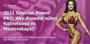 2021 Siberian Power PRO: Ako dopadol súboj Kuznetsova vs Maslovskaya?