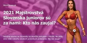 2021 Majstrovstvá Slovenska juniorov sú za nami: Kto nás zaujal?